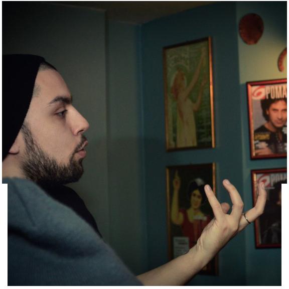 """""""Ο ονειρικός κόσμος…"""" Συνέντευξη Παντελής Βατουσιάδης (Σκηνοθέτης, Multimedia designer)"""