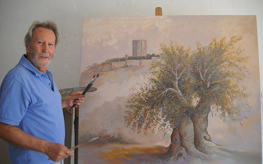 """Αθανάσιος Σταθακόπουλος """"Ο ζωγράφος που ζωντανεύει την ομορφιά της ζωής με χρώματα"""""""